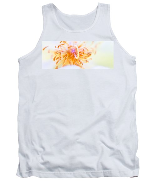 Abstract Flower Tank Top