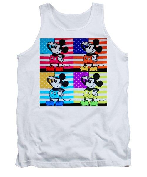 American Mickey Tank Top
