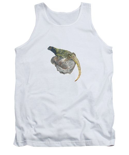 Argentine Lizard Tank Top by Cindy Hitchcock