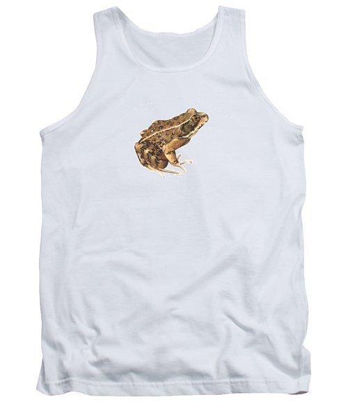 California Red-legged Frog Tank Top by Cindy Hitchcock