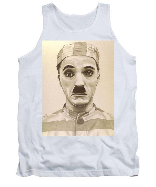 Vintage Charlie Chaplin Tank Top
