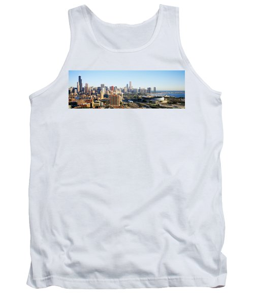 Chicago, Illinois, Usa Tank Top by Panoramic Images