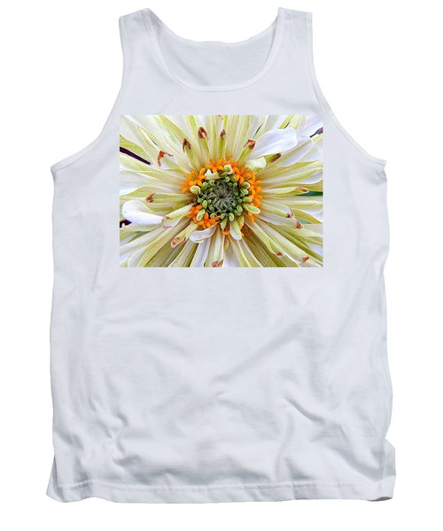 Chrysanthemum Fall In New Orleans Louisiana Tank Top by Michael Hoard