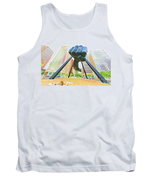 Detroit Fist Tank Top