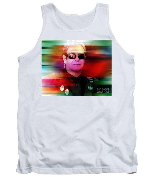 Elton John Tank Top