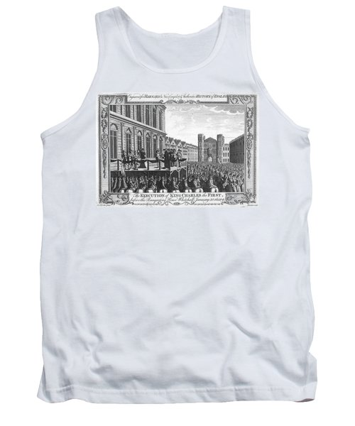 Execution Of Charles I Tank Top