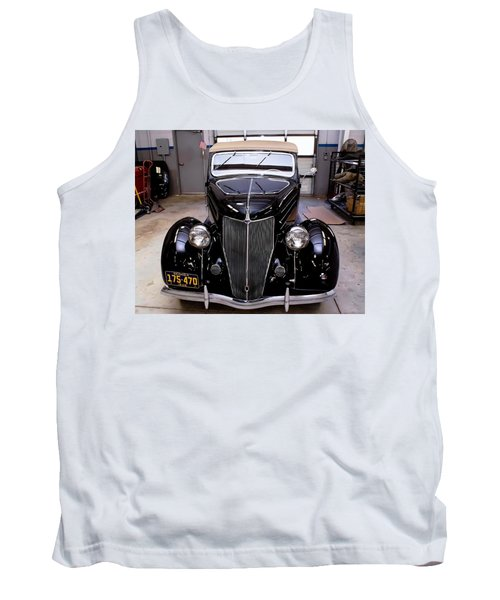Tank Top featuring the photograph Ford Restoration by Robert L Jackson