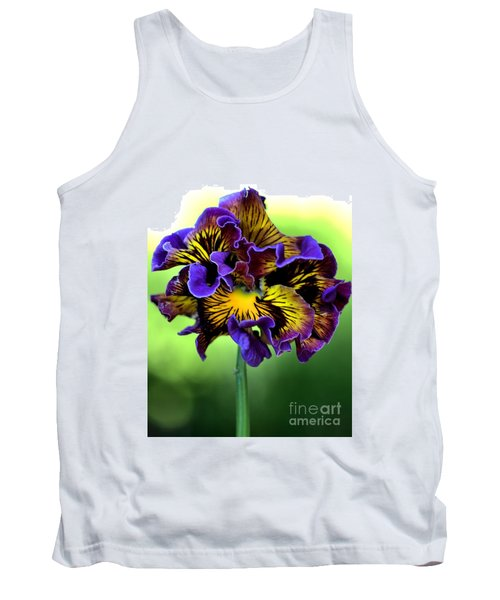 Frilly Pansy Tank Top
