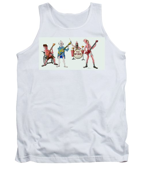 Sixties And Seventies Musicians Tank Top