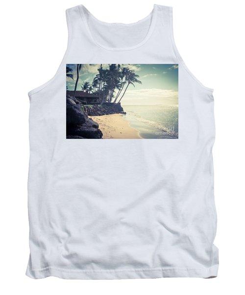 Tank Top featuring the photograph Kihei Maui Hawaii by Sharon Mau