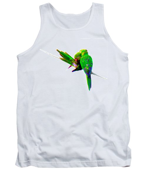 Love Birds Tank Top by J Anthony