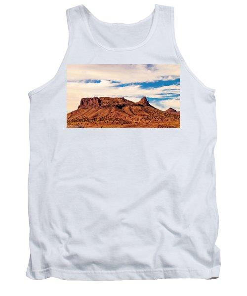 Navajo Nation Series Along 87 And 15 Tank Top