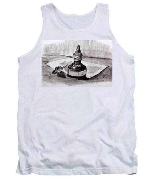 Pen And Ink Tank Top