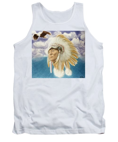 Proud As An Eagle Tank Top by Rich Milo