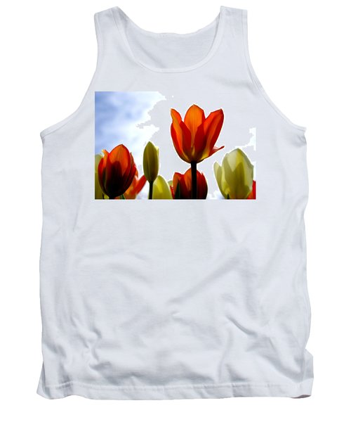 Tank Top featuring the photograph Reaching For The Sun by Marilyn Wilson
