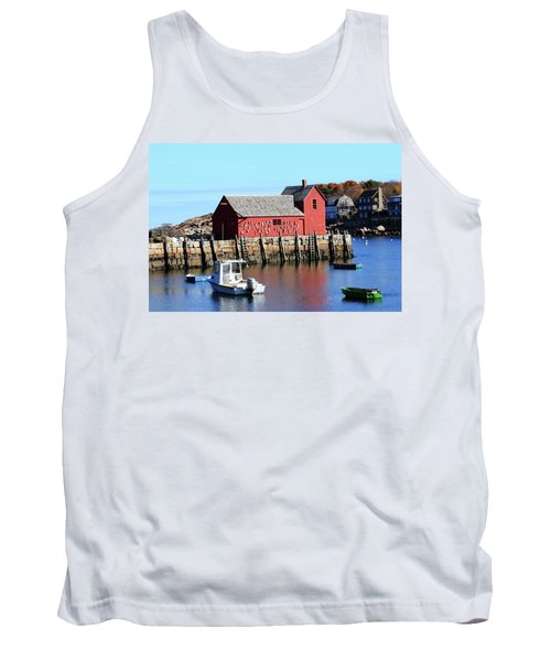 Rockport Motif Number 1 Tank Top by Lou Ford