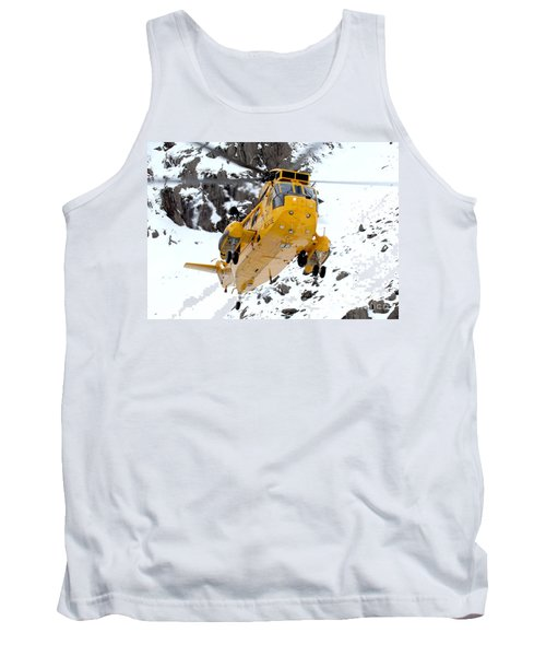 Seaking Helicopter Tank Top by Paul Fearn
