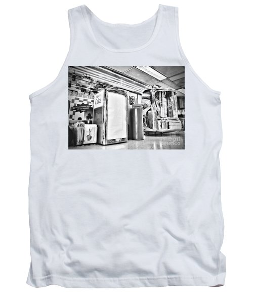 Sitting At The Counter Tank Top