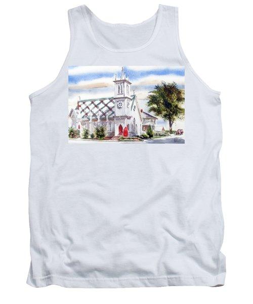 St Pauls Episcopal Church  Tank Top by Kip DeVore