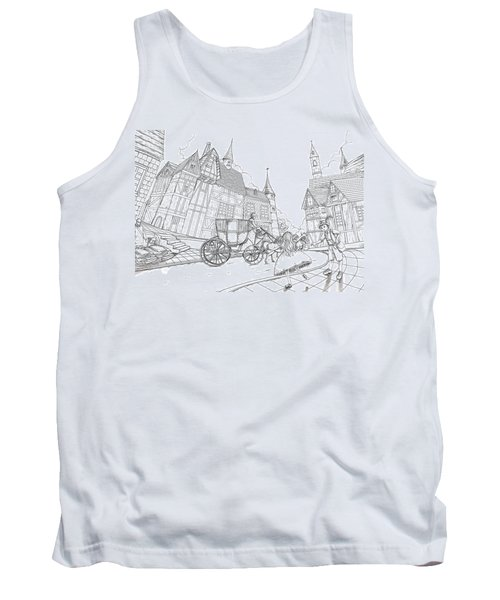 The Bavarian Village Tank Top