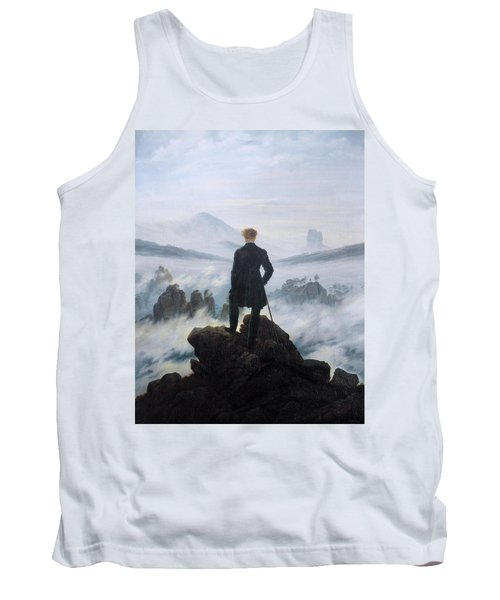 The Wanderer Above The Sea Of Fog Tank Top