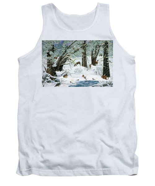 They Said It Wouldn't Snow Tank Top