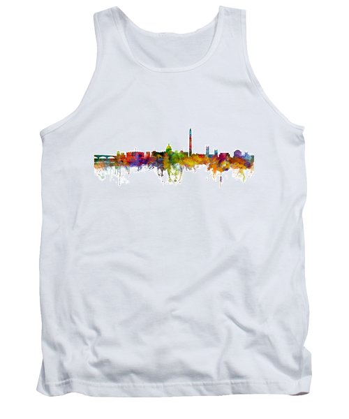 Washington Dc Skyline Tank Top