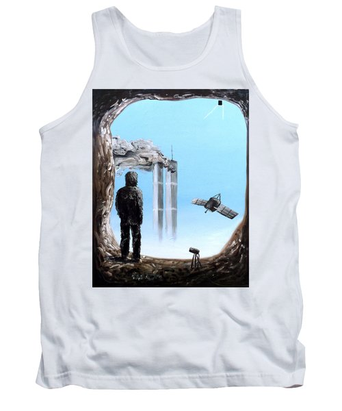 2012-confronting Inevitability Tank Top by Ryan Demaree