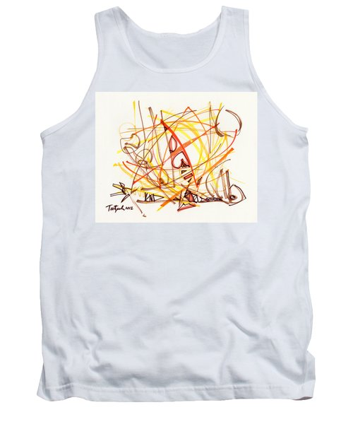 2012 Drawing #31 Tank Top