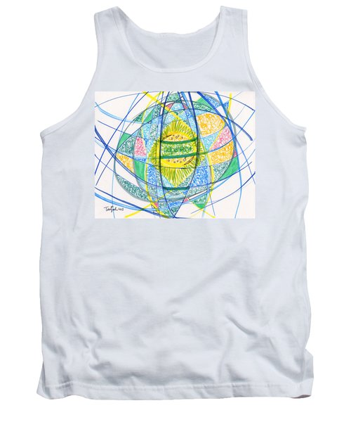 2013 Abstract Drawing #2 Tank Top by Lynne Taetzsch