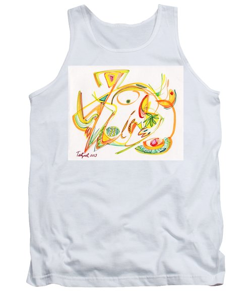 2013 Abstract Drawing #20 Tank Top by Lynne Taetzsch