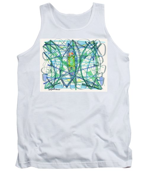 2013 Abstract Drawing #23 Tank Top by Lynne Taetzsch