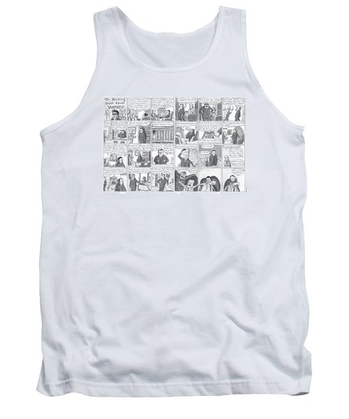 The Shocking Truth About Vampires ! Tank Top