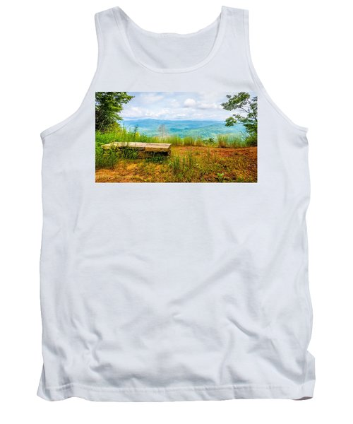 Tank Top featuring the photograph Scenery Around Lake Jocasse Gorge by Alex Grichenko