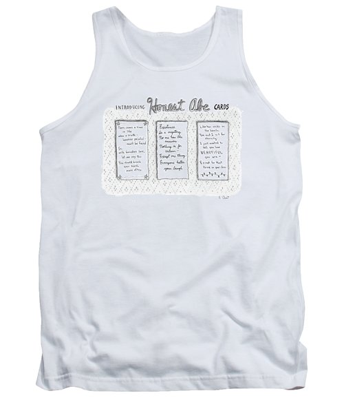 Introducing Honest Abe Cards Tank Top