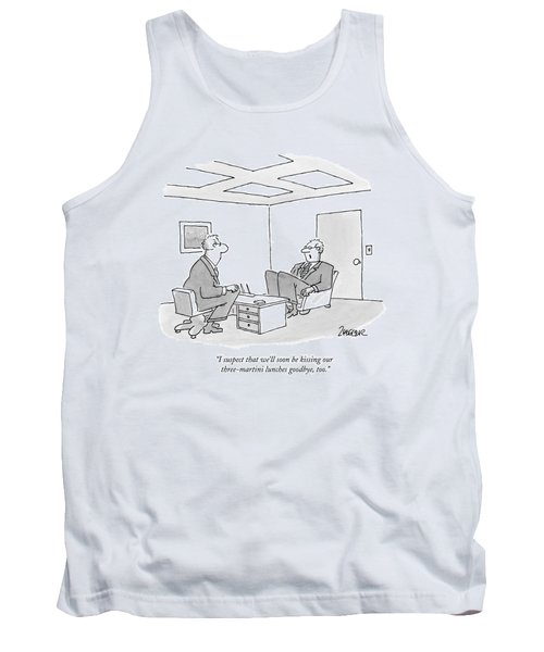 I Suspect That We'll Soon Be Kissing Tank Top