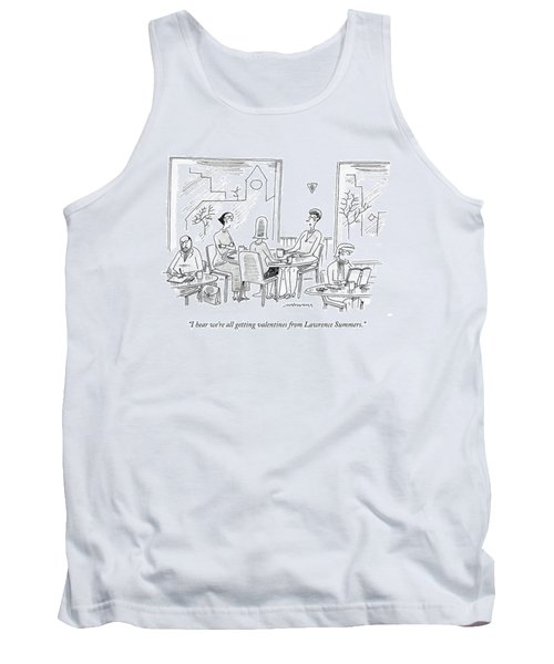 I Hear We're All Getting Valentines From Lawrence Tank Top