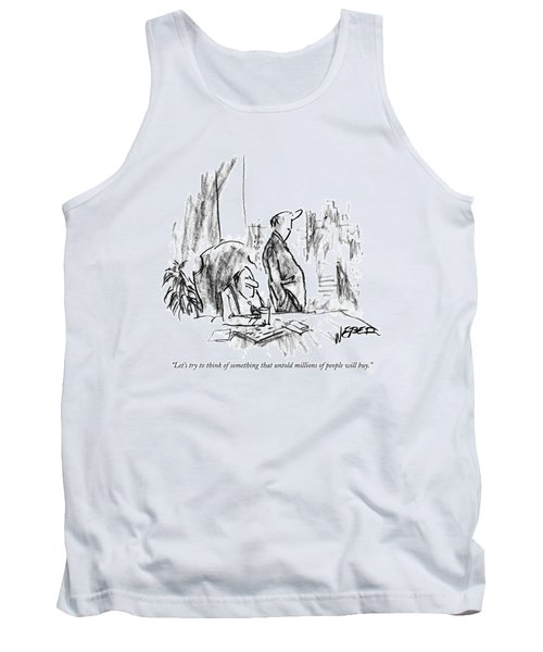 Let's Try To Think Of Something That Untold Tank Top