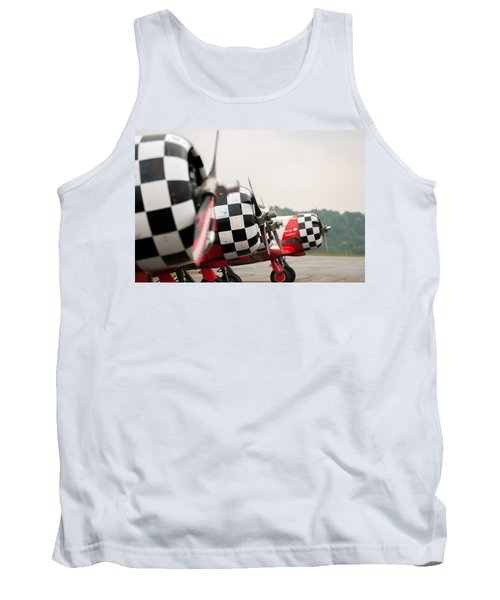Tank Top featuring the photograph Airplanes At The Airshow by Alex Grichenko