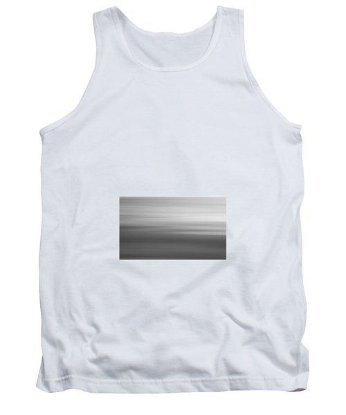 Black And White Abstract Seascape No. 02 Tank Top