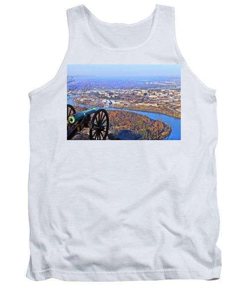 Chattanooga In Autumn Tank Top by Melinda Fawver
