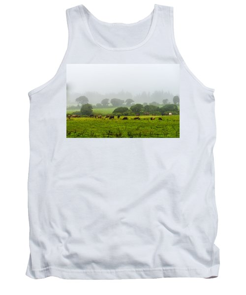 Cows At Rest Tank Top
