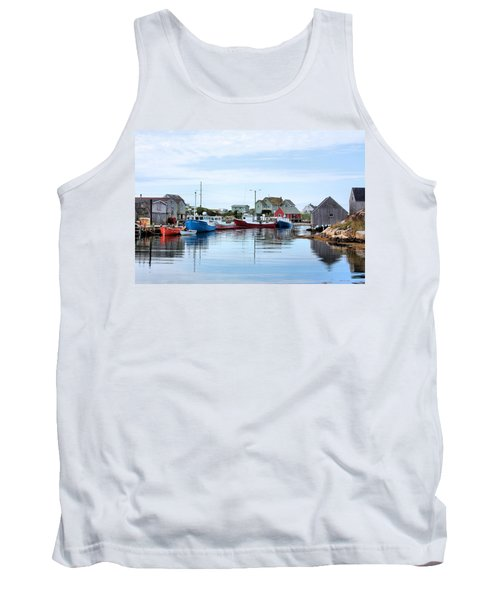 Peggys Cove Tank Top by Kristin Elmquist