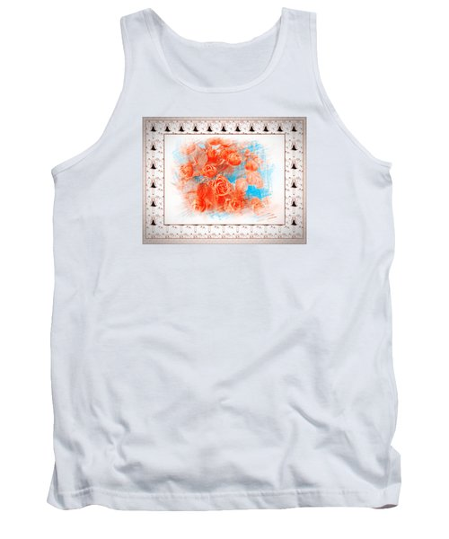 The Orange Roses Tank Top