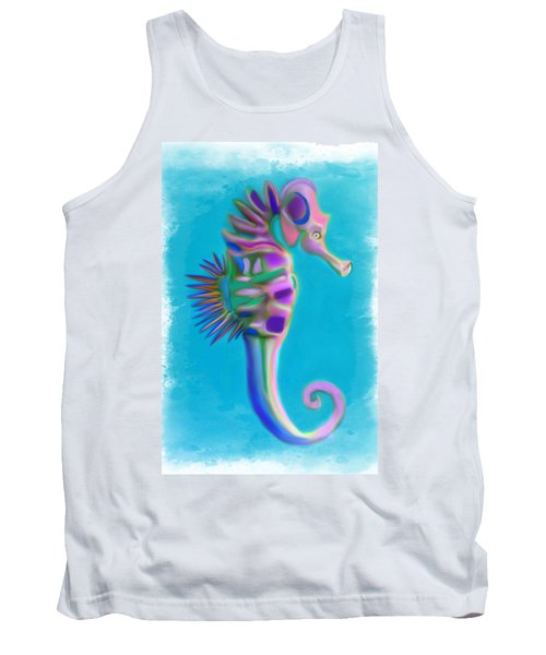The Pretty Seahorse Tank Top