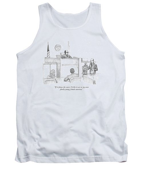 If It Please The Court Tank Top