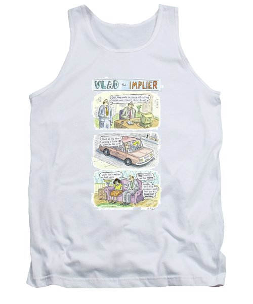 New Yorker May 19th, 2008 Tank Top