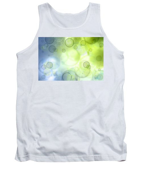 Abstract Background Tank Top by Les Cunliffe