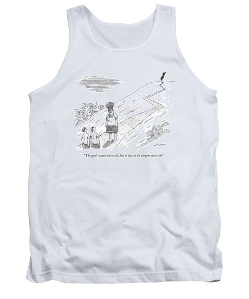 The Gods Want Olive Oil Tank Top