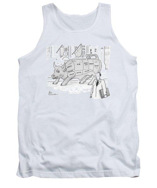 Wallstreet Bull Tank Top